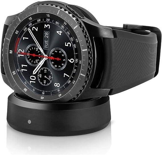 Amazon.com: Reloj inteligente Samsung Gear S3 Frontier 4G ...