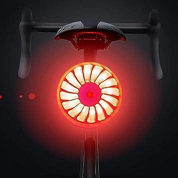 WASAGA Luz Trasera de la Bicicleta, Smart Brake Luz Trasera de la ...