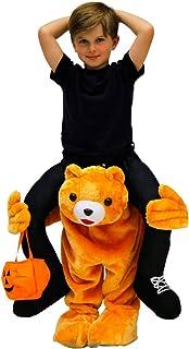 Costume Agent Menu0027s Piggyback Bear Ride-On Costume  sc 1 st  Amazon.com & Amazon.com: