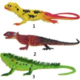 SONONIA ゴム製 爬虫類 トカゲモデル おもちゃ 子供 知育玩具 小道具 贈り物 2個