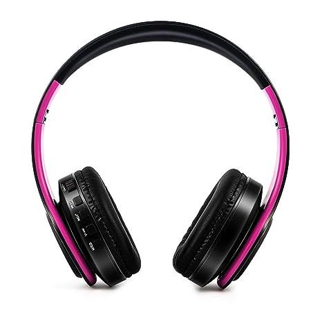 LQQSTORE Cuffie bluetooth cuffie bluetooth senza fili wireless over-ear  Auricolare con microfono cuffia musica 995362c382e7