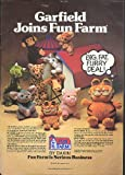 Garfield joins Dakin Fun Farm Big Fat Furry Deal ad 1982 offers