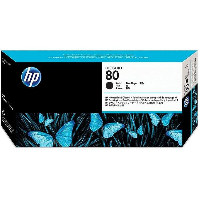 HP Hewlett Packard cabezal de impresión C4820A negro: Hp: Amazon ...