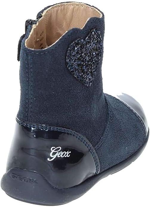 Geox Baby Mädchen B New Balu' Girl E Stiefel, Blau (Navy