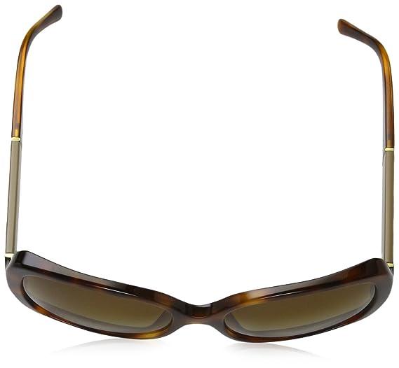 c2e9220167c Amazon.com  Burberry 4160 3316T5 Tortoise 4160 Square Sunglasses Polarised  Lens Category 2  Burberry  Clothing