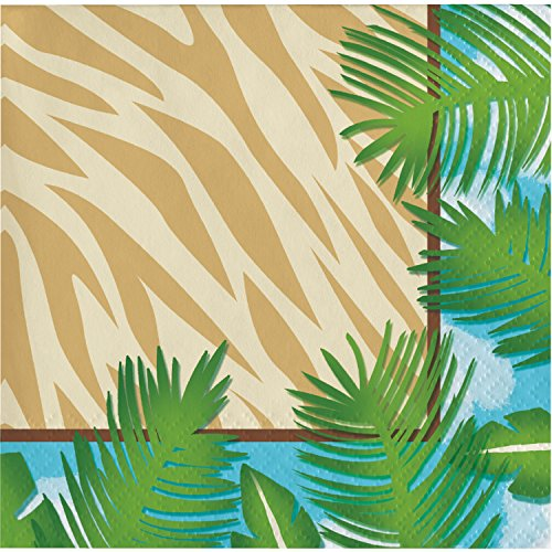 (Safari Adventure Beverage Napkins, 48 ct)