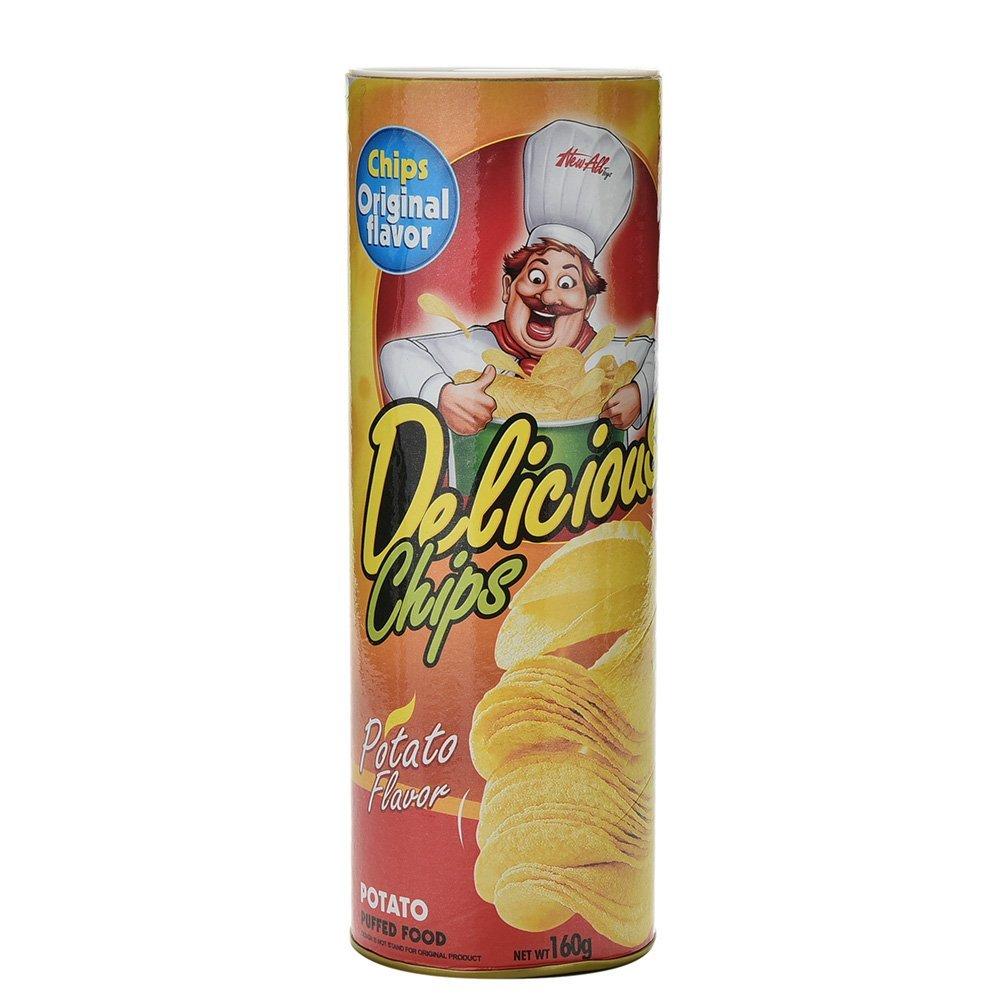 1X Trick Potato Chip Can Novelty Joke Prank Jump Snake Funny Tricky Kids Toys f
