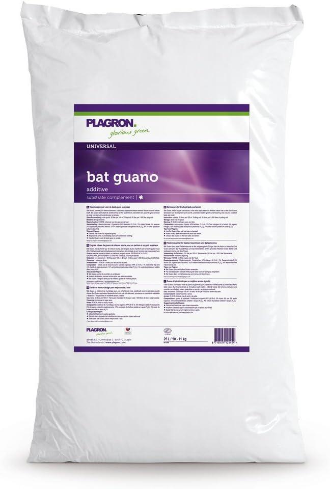 Plagron Aditivo/Complemento de sustrato para el Cultivo Bat Guano (25L)