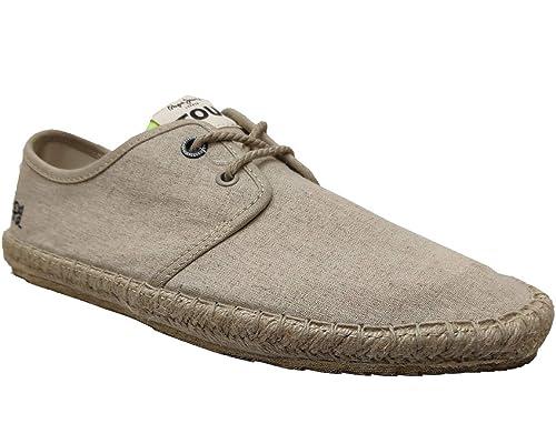 Pepe Jeans Tourist Linen, Alpargatas para Hombre: Amazon.es: Zapatos y complementos