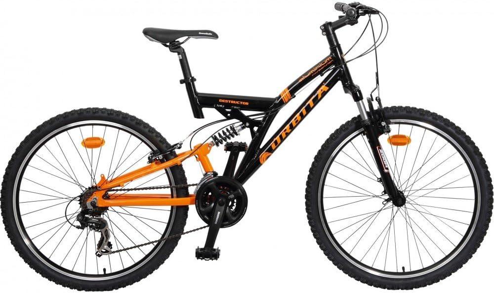 Bicicleta MTB Aluminio Doble suspensión Orbita Destructor 26 21v ...