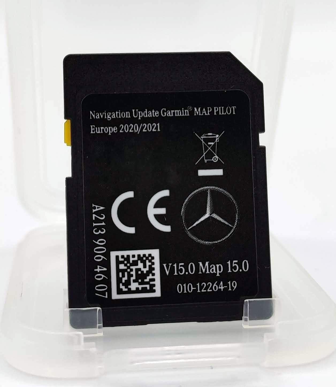 Tarjeta SD para Mercedes-Benz Garmin Map Pilot SD Card V15 2020-2021 Europe, A2139064607: Amazon.es: Electrónica