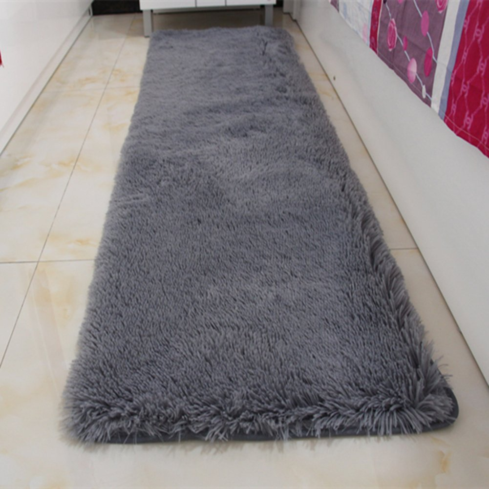 Door mat,Gate pad,Rug,Could be washed by water,Thicken,Long cashmere,Hair mats,Bedroom,[bedside],Bay window mats,Balconies mats-E 160x230cm(63x91inch)160x230cm(63x91inch)