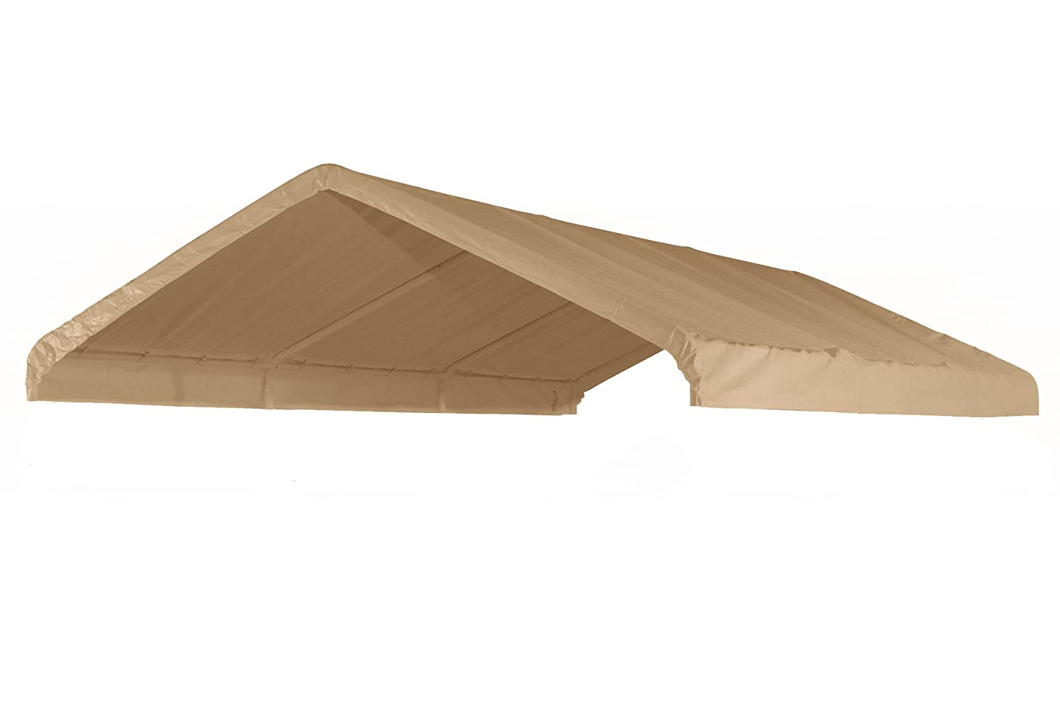 Amazon.com 12u0027 X 20u0027 Canopy Replacement Cover (Tan) - For Frames 10u0027 W X 20u0027 L (See Diagram) Garden u0026 Outdoor  sc 1 st  Amazon.com & Amazon.com: 12u0027 X 20u0027 Canopy Replacement Cover (Tan) - For Frames ...