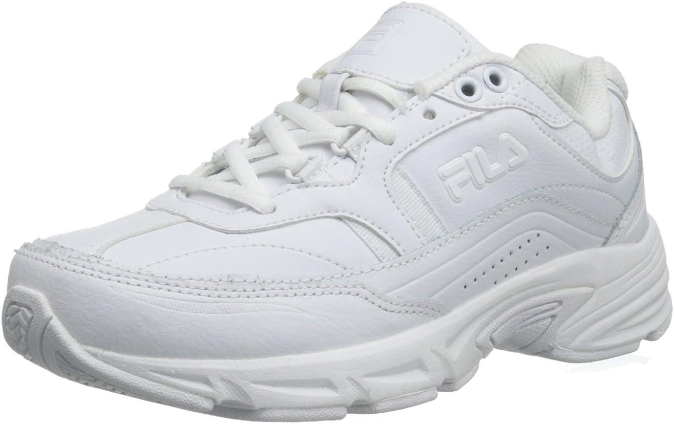 Fila de Memoria jornada de Trabajo Antideslizante Zapato de Trabajo: Amazon.es: Zapatos y complementos