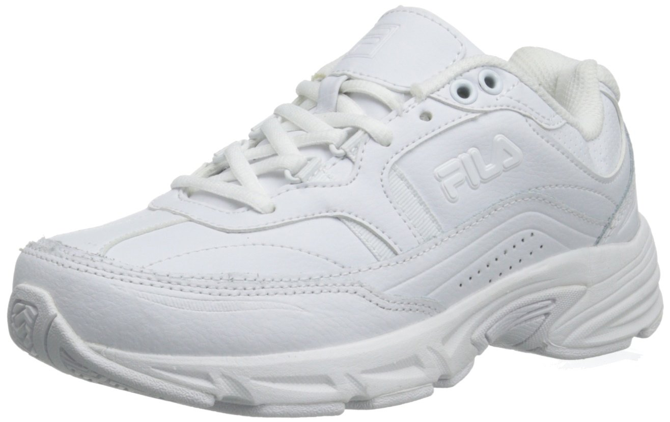 Fila Women's Memory Workshift Training Shoe,White/White/White,6.5 W US by Fila