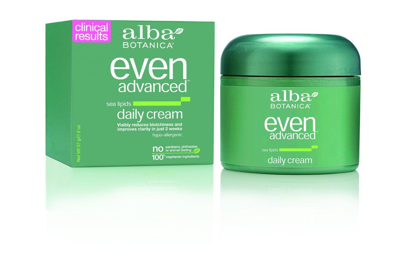 Alba Botanica Even Advanced, Sea Lipids Daily Cream, 2 Ounce