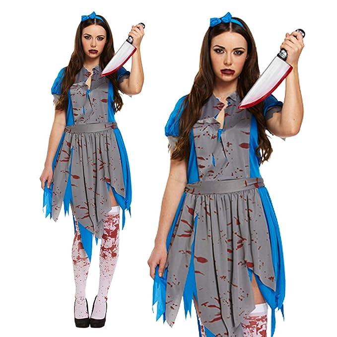 Paraguas de Papel para Disfraz de Halloween Zombie Alicia País de ...