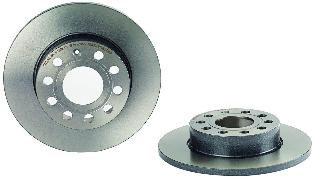 Brembo 08.9488.11 Rear Uv Coated Brake Disc - Set of 2 Brembo S.p.A.
