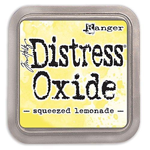Ranger Squeezed Lemonade Tim Holtz Distress Oxides Ink (Ranger Distress Ink Pads)
