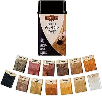 Liberon Paleta Tinte de Madera 250 ml – Múltiples colores ...