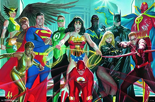 Trends International  Justice League Elite Wall Poster 22.375