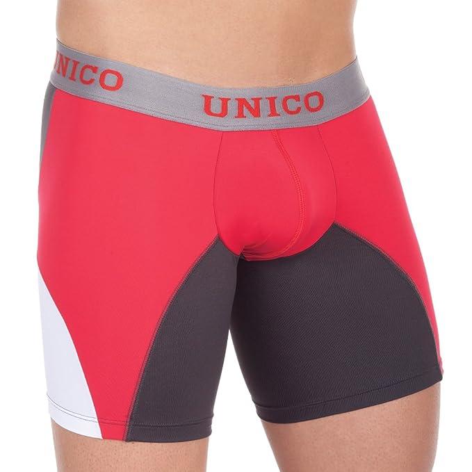 Unico Boxer Largo bien Llaima Ropa Interior Para Hombre rojo Large