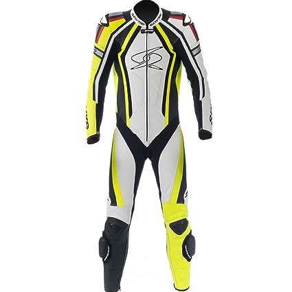 Mono de piel para moto hombres Spyke Blinker RAC traje de ...