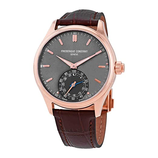 Frederique Constant Smartwatch Reloj de Hombre Cuarzo Suizo 42mm FC-285LGS5B4: Amazon.es: Relojes