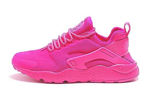 pretty nice 04923 96385 Amazon.com  Air Huarache 2016 Men and Women Run Ultra Sneaker Shoes  ZOPPUtility Running Shoes Peach US7.5 (3854113262025)  Books