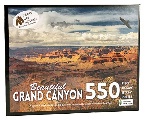 Frank Lee Ruggles Signature Collection Puzzle Grand Canyon Frank Ruggles Signature Collection Puzzle Jigsaw  550 Piece