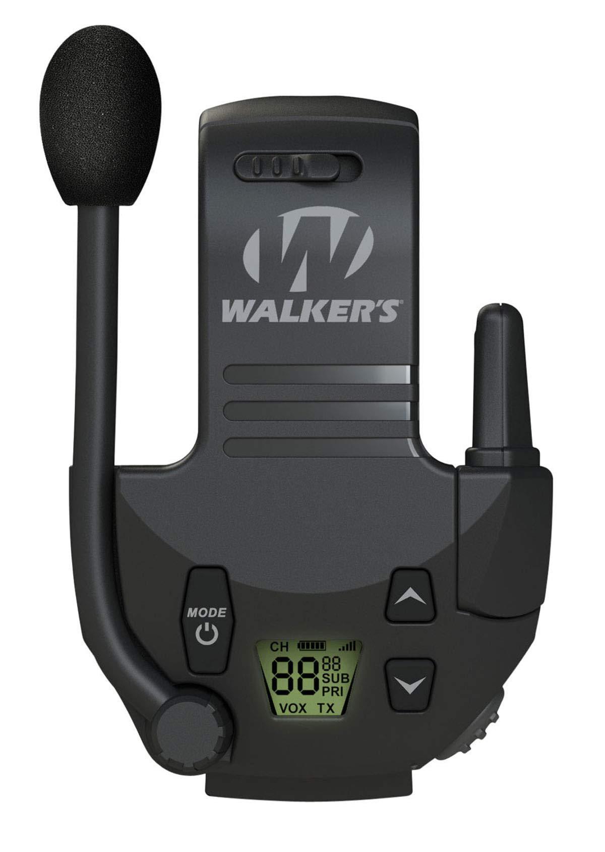Walkers Walkie Talkie Clip On for Razor Electronic Ear Muffs by Walkers