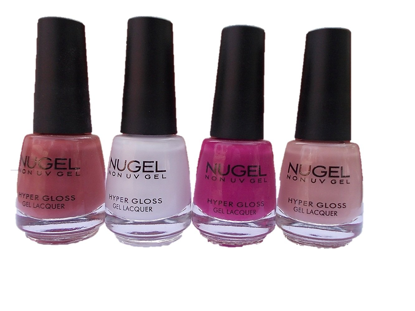Buy NUGEL GEL NAIL POLISH (SET OF FOUR) Online at Low Prices in ...