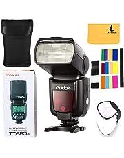 Godox TT685N TTL Flash Speedlite 2.4G Wireless HSS 1/8000s GN60 for Nikon DSLR Cameras D7200 D7100 D7000 D5500 D5300 D5200 D5100 D5000 D3300 D3200 D3100 D3000 D810 D800 etc