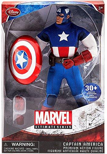 Marvel Ultimate Series Captain America Premium Action Figure - 11 1/2''(Disney)