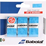 Babolat 2018 Pro Team SP Overgrip 3 - Choice of Colors - Tennis, Badminton, Racquetball - Highly Adsorbant