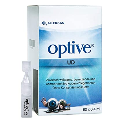 optive UD Ojo gota, 60 x 0,4 ml