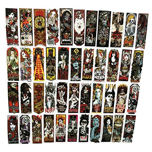 50pcs Cool Tattoo Gothic Style Demonic Woman Ogreish Rectangular stickers Waterproof Laptops Macbook Skateboards Luggage Cars Bumpers Bicycles Be ()