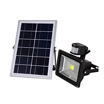 W lite 10w led solar powered motion sensor flood light warm white w lite 10w led solar powered motion sensor flood lightwarm white 3000k aloadofball Image collections