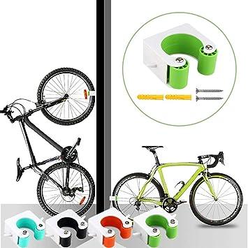 OUHZNUX 2PC Gancho De Montaje En Pared Para Bicicleta, Hebilla De Estacionamiento Para Bicicleta De Carretera, Montaje En Pared Portátil, Soporte Vertical Para Interiores, Fácil De Instalar(2Piezas): Amazon.es: Bricolaje y herramientas