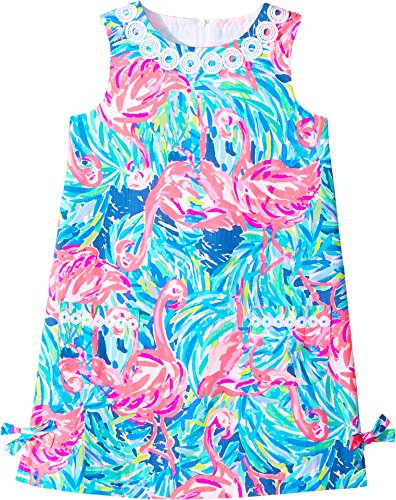 Childs Flamenco Dress (Lilly Pulitzer Kids Baby Girl's Little Lilly Classic Shift (Toddler/Little Kids/Big Kids) Multi Flamenco Beach Dress)
