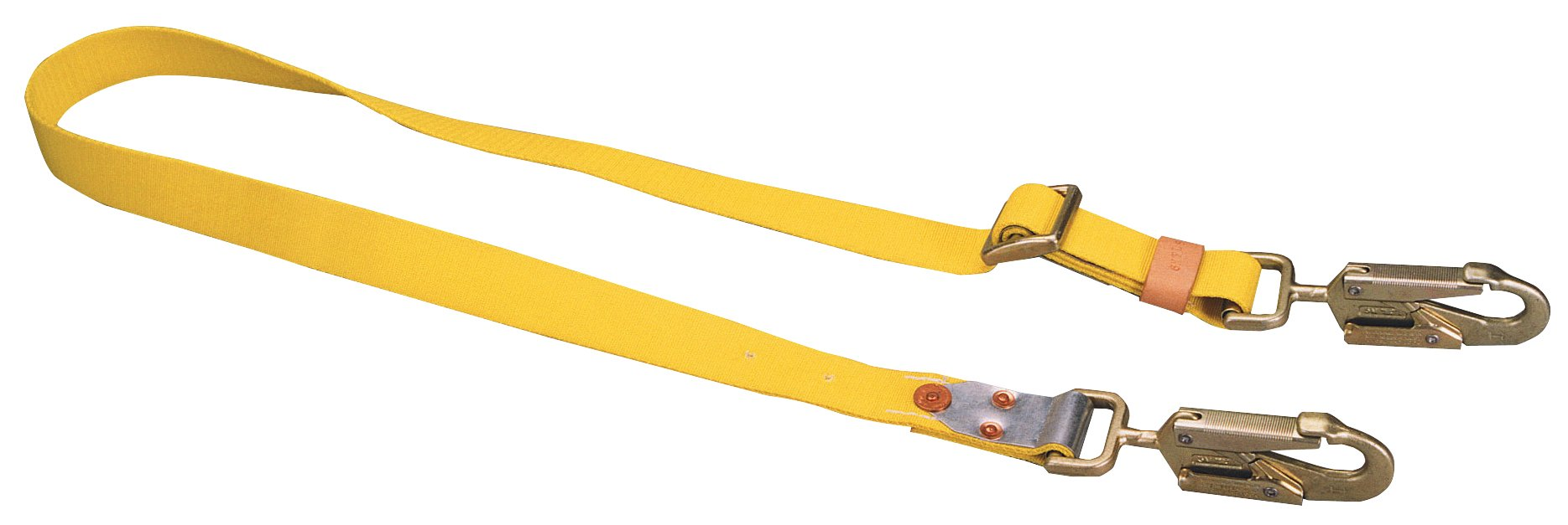 Miller by Honeywell 6NFLS/6FTYL Safety Strap Nylon Front Buckle, 6'