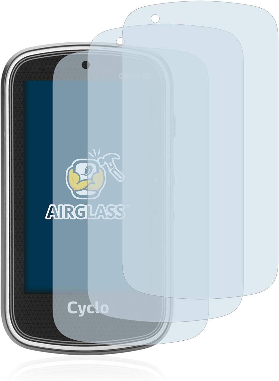 brotect Protection Ecran Verre Compatible avec Mitac Mio Cyclo 405 Film Protecteur Vitre 9H Anti-Rayures 3 Pi/èces AirGlass