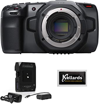 Amazon Com Blackmagic Design Pocket Cinema Camera 6k Ef Mount Body Only With Core Swx Powerbase Edge Battery 5pck Cleaning Wipes Bundle Electronics
