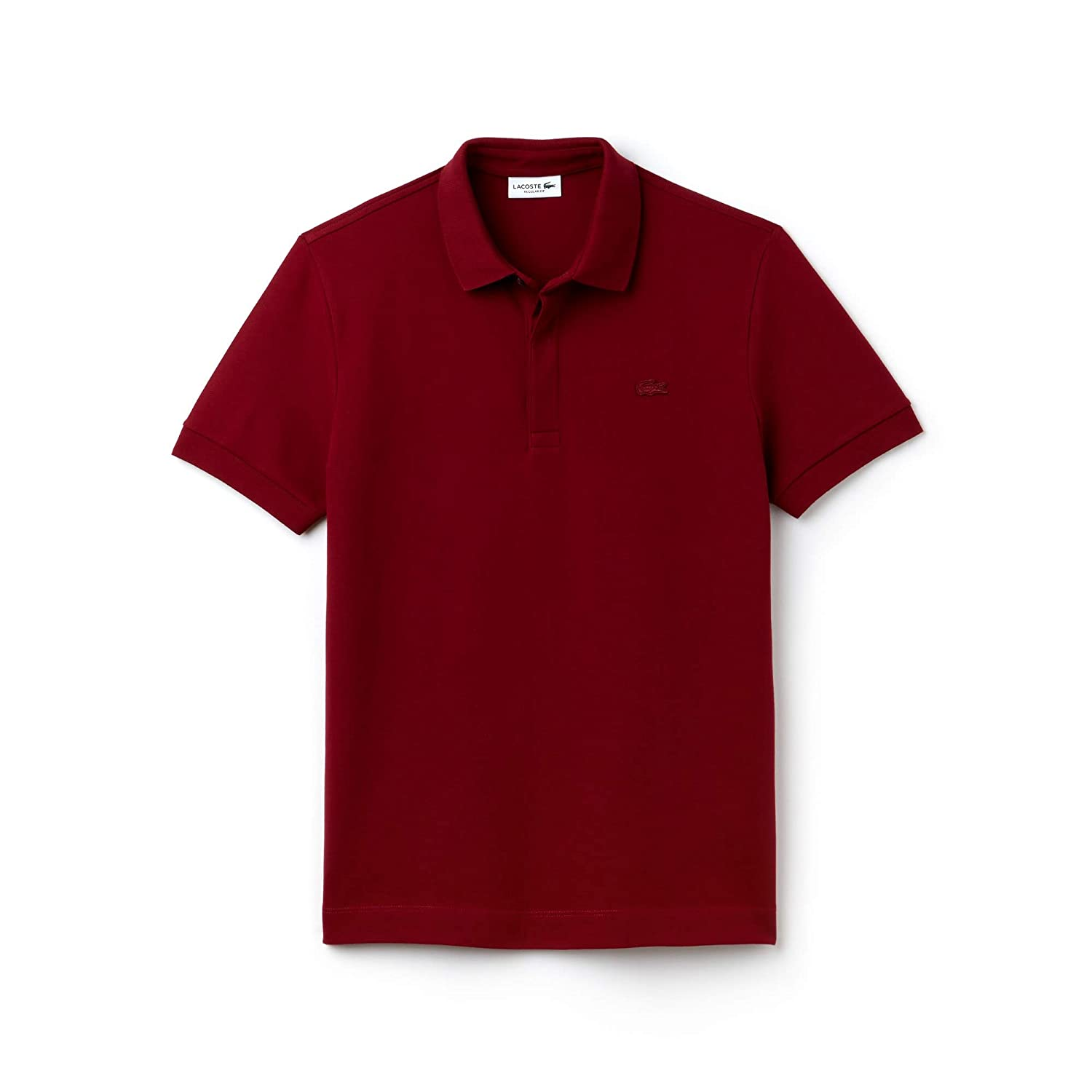 Rouge (Bordeaux 476) S Lacoste, Paris Polo Homme