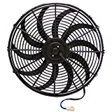 Zirgo 10211 16'' 3000 fCFM High Performance Blu Cooling Fan