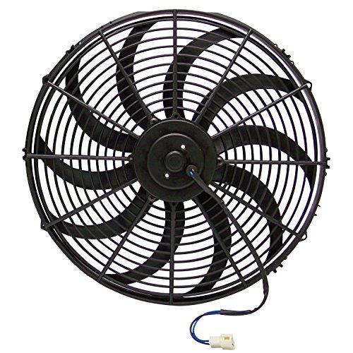 Zirgo 10211 16″ 3000 fCFM High Performance Blu Cooling Fan