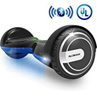 MEGAWHEELS Smart Hoverboard - UL Certified Safety Battery, Build-in Bluetooth Speaker & Led Lights Self-Balancing Hover Board
