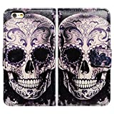 Bfun Packing Cool Flowers Floral Skull Card Slot - Best Reviews Guide