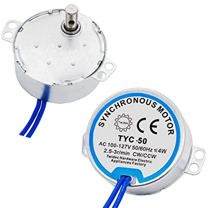 Twidec/2Pcs With 7mm Flexible Coupling Connector Synchronous