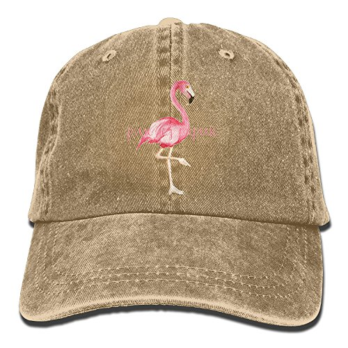 Pink Flamingo Cowboy Hat Adult Adjustable Printing - Mexico Men National Costume